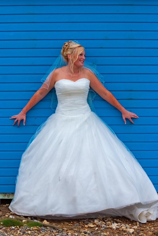 stylised bridal shot
